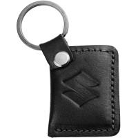 "Avtoradosti Брелок для ключей черный с логотипом ""Suzuki"""