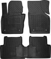 Коврики в салон для Audi Q3 '11- резиновые, черные (AVTO-Gumm)