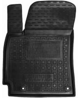 Коврик в салон водительский для Hyundai Elantra AD '16- резиновый, черный (AVTO-Gumm)