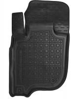 Коврик в салон водительский для Mitsubishi Pajero Sport '16- резиновый, черный (AVTO-Gumm)