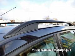 Рейлинги для Volkswagen Caddy '10-15, черные (crown-дизайн)