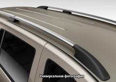 Рейлинги для Volkswagen Caddy '04-10, серые (пласт. концевик) задняя точка крепления на 3 болта