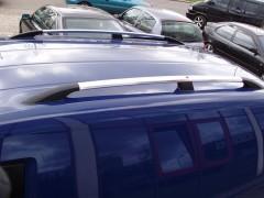 Рейлинги для Volkswagen Caddy '04-10, хром (пласт. концевик)