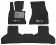 Textile-Pro Коврики в салон для BMW X5 F15 '14-18 текстильные, серые (Люкс)