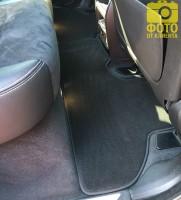 Фото 10 - Коврики в салон для BMW X5 F15 '14- текстильные, черные (Премиум)