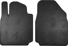 Коврики в салон передние для Nissan Micra '03-10 резиновые (Stingray)
