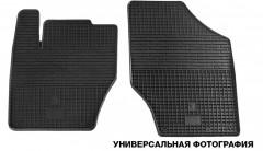 Коврики в салон передние для Nissan Micra '10-17 резиновые (Stingray)