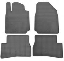 Коврики в салон для Nissan Micra '10-17 резиновые (Stingray)