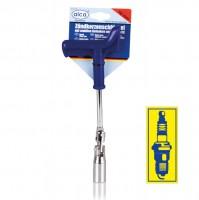 Ключ свечной усиленный 16 мм Alca 421 160