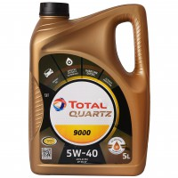 Total Quartz 9000 5W-40, 5 л
