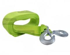 Трос буксировочный с крючками 3 тонны Elegant PLUS 101 815 зеленый