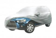 Тент автомобильный для джипа Milex JEEP PEVA+PP Cotton М (+ зеркало и замок)