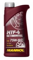 Масло трансмиссионное Mannol MTF-4 Getriebeoel 75W-80 1л