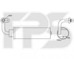 Осушувач для Nissan/Infiniti (NISSENS) FP 50 Q560-X