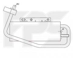 Осушитель для Chevrolet / Opel / Daewoo (NISSENS) FP 52 Q559-X
