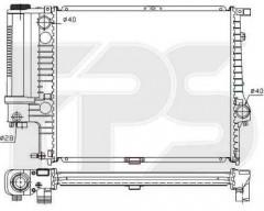 Радиатор охлаждения двигателя для BMW (FPS) FP 14 A18-P