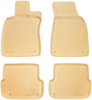 Коврики в салон для Audi A6 '05-10 полиуретановые, бежевые (Nor-Plast)