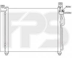 Радиатор кондиционера для Hyundai / Kia (NISSENS) FP 40 K328