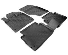 Коврики в салон для Audi Q7 '05-14 полиуретановые, черные (Nor-Plast)