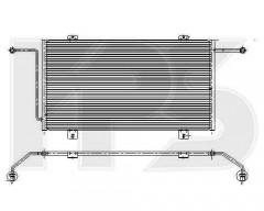 Радиатор кондиционера для Chevrolet / Opel / Daewoo (NRF) FP 56 K169