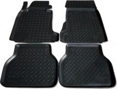 Коврики в салон для BMW 5 E39 '96-03 полиуретановые, черные (Nor-Plast)