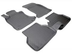 Коврики в салон для BMW 5 E60 '03-10 полиуретановые, черные (Nor-Plast)