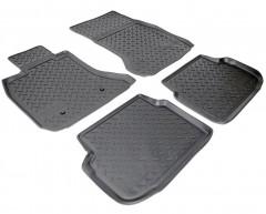 Коврики в салон для BMW 7 F01 '08-15 полиуретановые, черные (Nor-Plast)