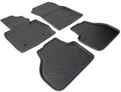 Коврики в салон для BMW X3 F25 '10-17 полиуретановые, черные (Nor-Plast)