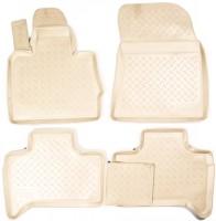 Коврики в салон для BMW X5 E53 '00-07 полиуретановые, бежевые (Nor-Plast)