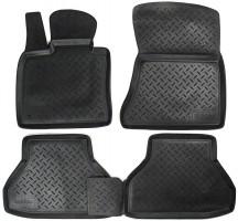 Коврики в салон для BMW X5 E70 '07-13 полиуретановые, черные (Nor-Plast)