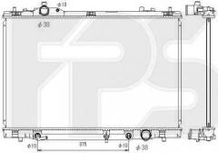 Радиатор охлаждения двигателя для Toyota / Lexus (KOYORAD) FP 70 A900-X