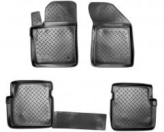 Коврики в салон для Dodge Avenger '07-13 полиуретановые, черные (Nor-Plast)