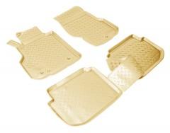 Коврики в салон для Infiniti M35 / M45 '06-10 полиуретановые, бежевые (Nor-Plast)