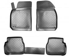 Коврики в салон для Cadillac BLS '06-10 полиуретановые, черные (Nor-Plast)