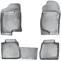 Коврики в салон для Cadillac Escalade III '07-13 полиуретановые, черные (Nor-Plast)