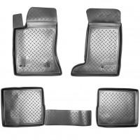 Коврики в салон для Cadillac SRX '04-10 полиуретановые, черные (Nor-Plast)