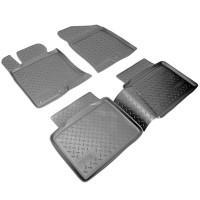 Коврики в салон для Kia Optima 2010 - 2015 полиуретановые (Nor-Plast)