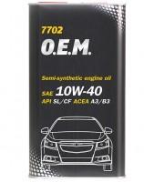 Mannol 7702 O.E.M. 10W-40 (4л)
