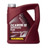 Масло трансмиссионное Mannol Dexron III Automatic Plus 4л