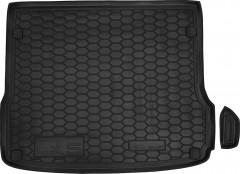Коврик в багажник для Audi Q5 '08-17, резиновый (AVTO-Gumm)