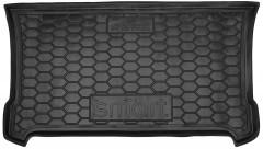 Коврик в багажник для Smart Fortwo '14-, резиновый (AVTO-Gumm)