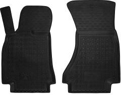 Коврики в салон передние для Audi A5 '09- резиновые, черные (AVTO-Gumm)