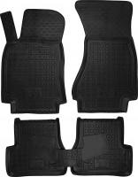 Коврики в салон для Audi A7 '10- Sportback резиновые, черные (AVTO-Gumm)