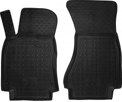 Коврики в салон передние для Audi A7 '10- Sportback резиновые, черные (AVTO-Gumm)