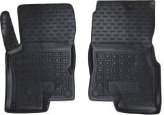Коврики в салон передние для Smart Forfour '04-06 резиновые, черные (AVTO-Gumm)