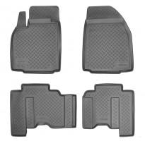 Коврики в салон для Mazda CX-9 '08-16 полиуретановые (Nor-Plast)