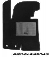 Коврик в салон водительский для Honda Accord 7 '03-08 текстильный, черный (Стандарт)