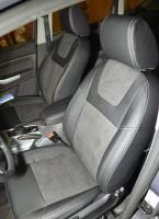 Авточехлы Leather Style для салона Ford Focus II '04-11, хетчбек/седан (MW Brothers)