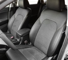 Авточехлы Leather Style для салона Hyundai Tucson '15- (MW Brothers)