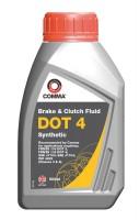 Тормозная жидкость Comma DOT 4 (BF4500M) 0,5 л.